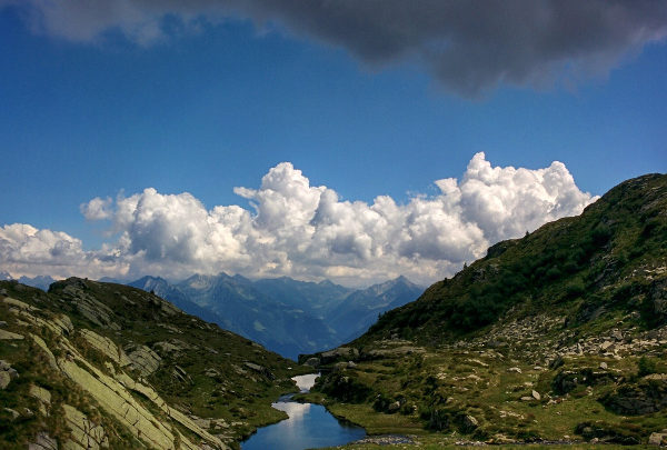 Hike Laghi di Spluga trailhead from Cevo