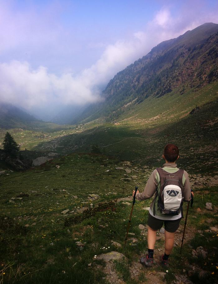 Escursione alla Bocchetta di Vicima Val Tartano