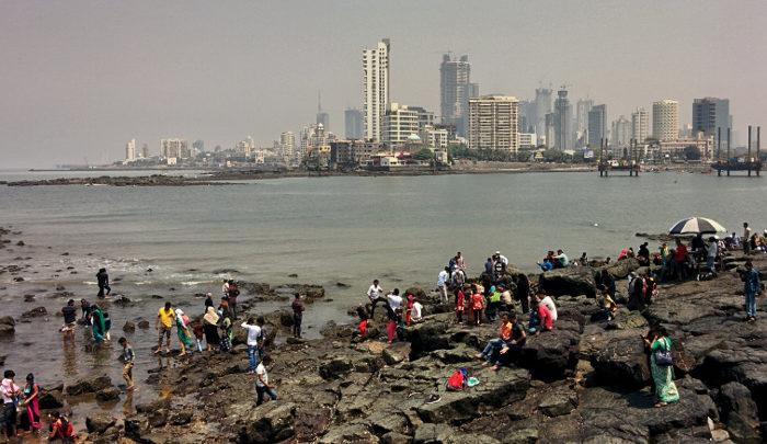Mumbai dalla Moschea Haji Ali